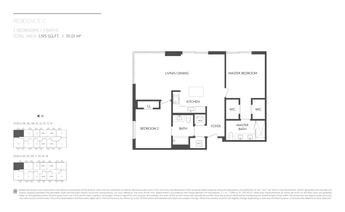 5252 Paseo - Floorplan 4