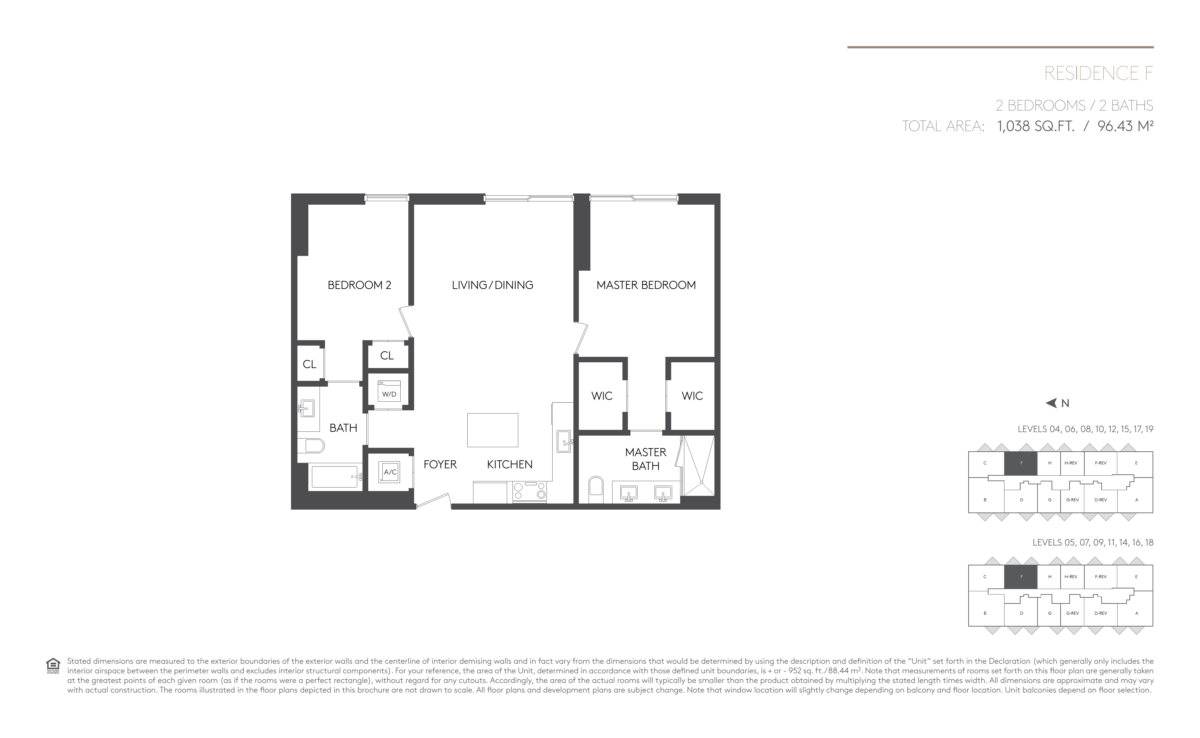 5252 Paseo - Floorplan 6