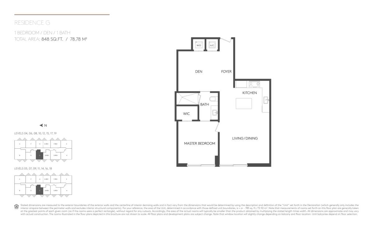5252 Paseo - Floorplan 7