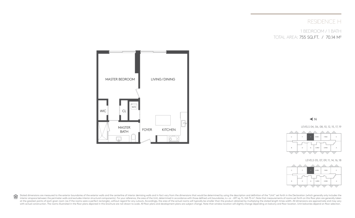 5252 Paseo - Floorplan 11