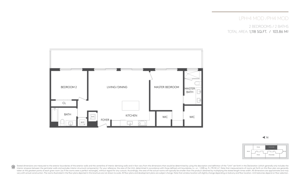 5252 Paseo - Floorplan 14