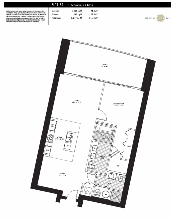 900 Biscayne - Floorplan 4