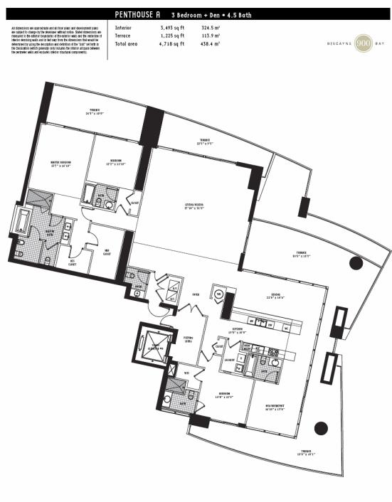 900 Biscayne - Floorplan 5