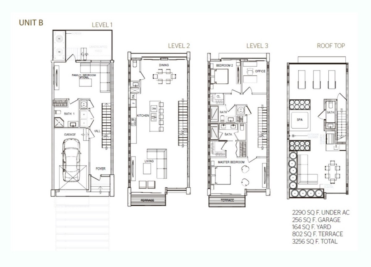 93 Bay Harbor - Floorplan 1