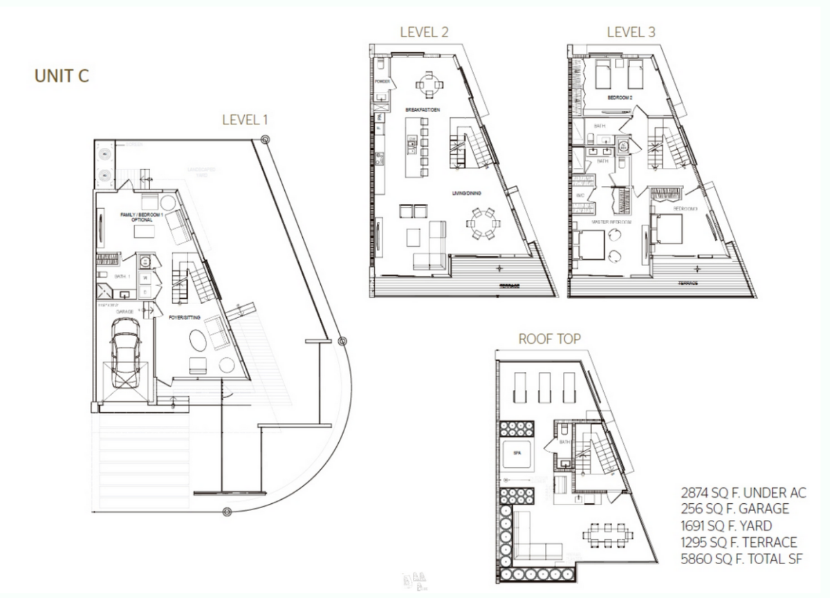 93 Bay Harbor - Floorplan 3