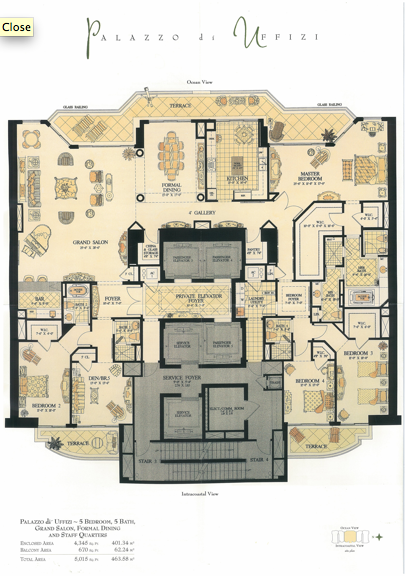 Acqualina - Floorplan 2
