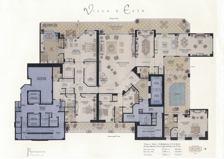 Acqualina - Floorplan 5