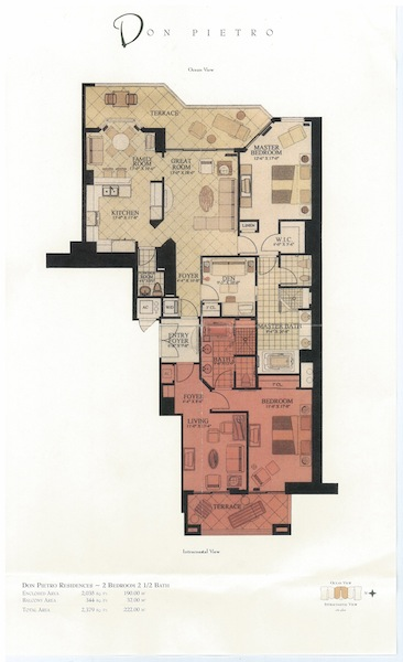 Acqualina - Floorplan 6