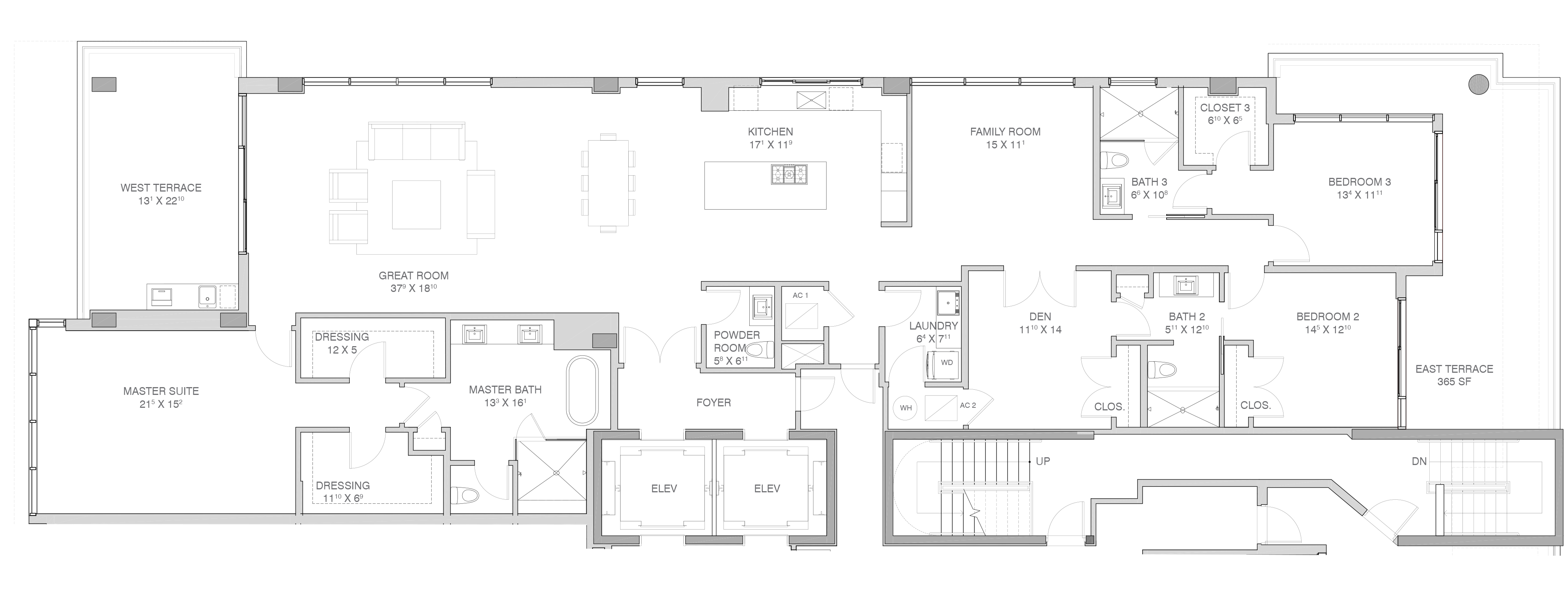 Adagio Fort Lauderdale Beach - Floorplan 8
