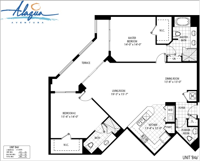 Alaqua - Floorplan 16