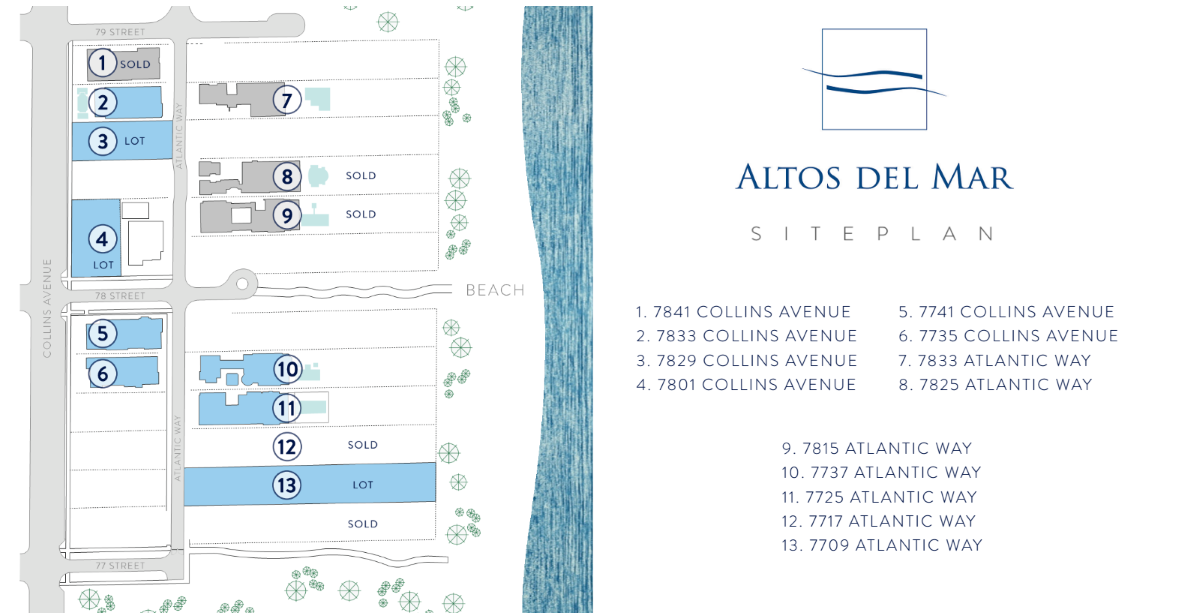 Altos Del Mar - Floorplan 1