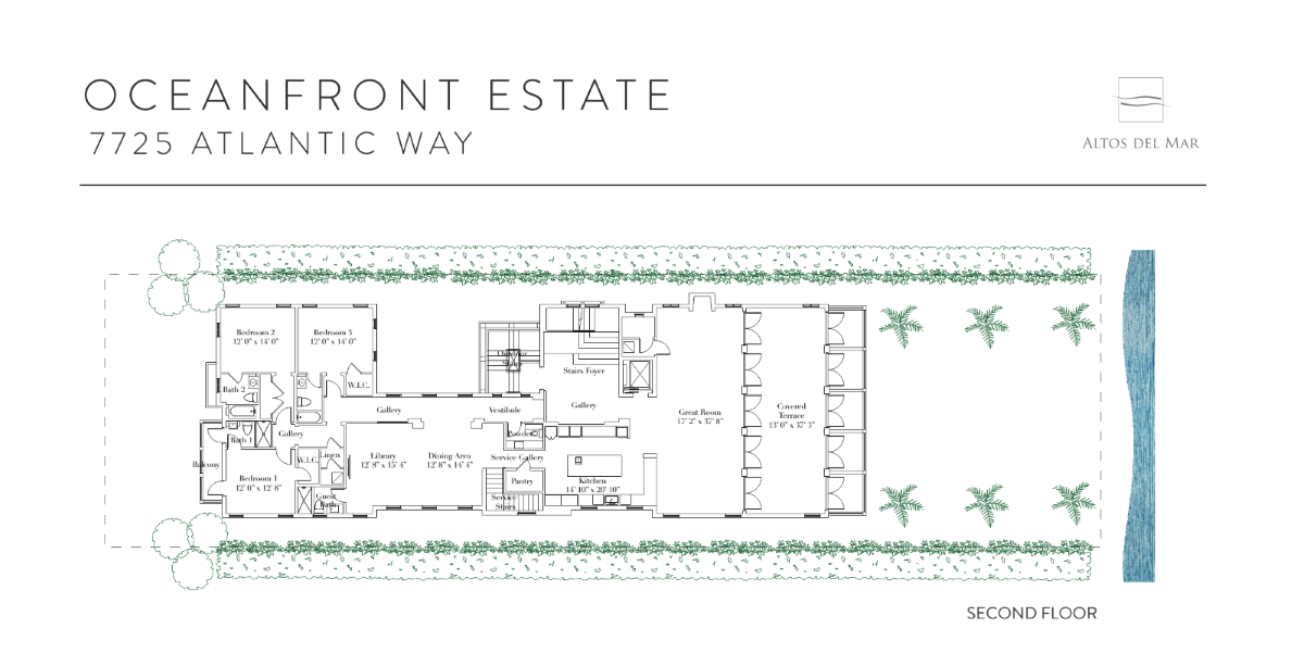 Altos Del Mar - Floorplan 3