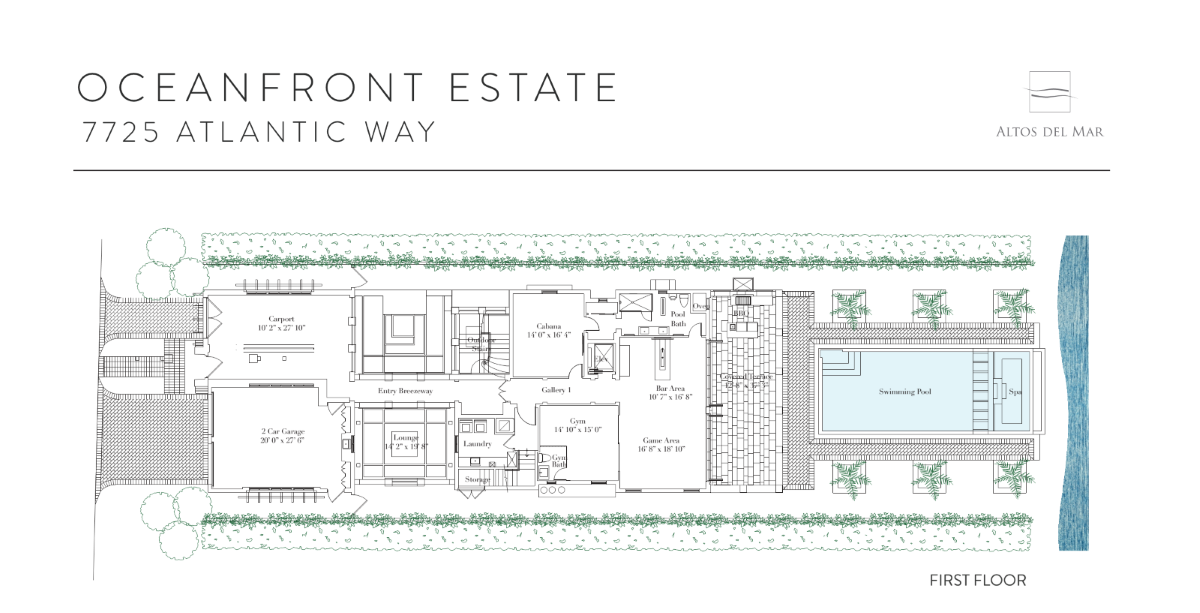 Altos Del Mar - Floorplan 4