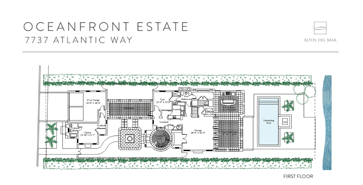 Altos Del Mar - Floorplan 6