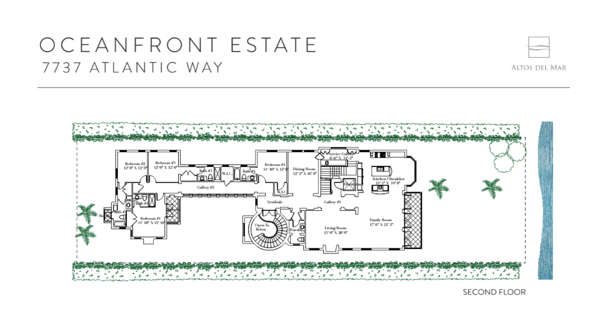 Altos Del Mar - Floorplan 7