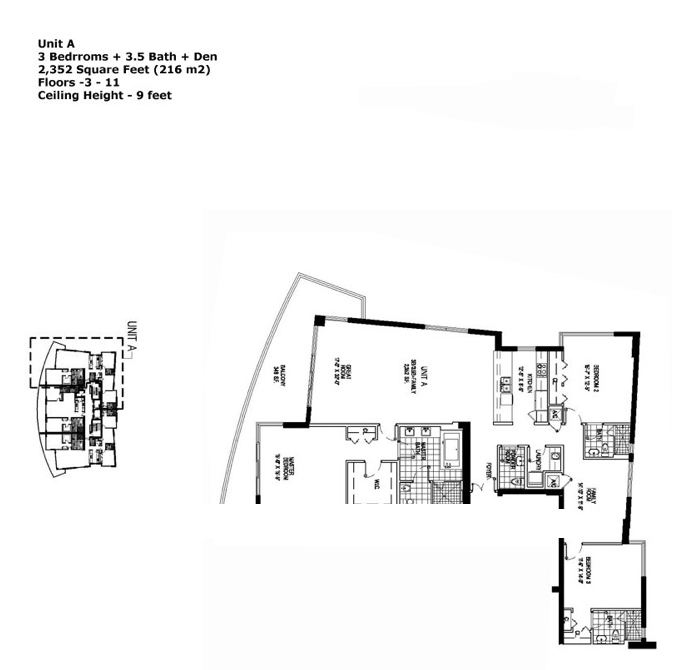 Apogee Beach - Floorplan 1