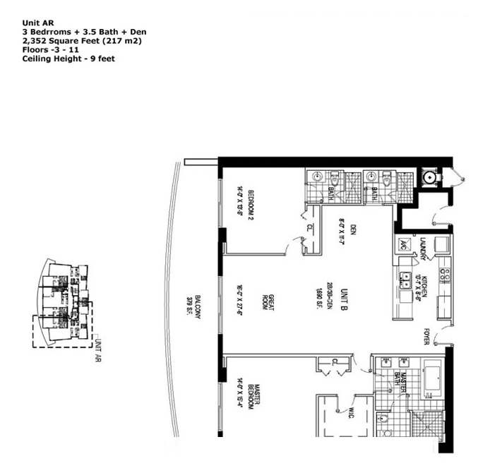 Apogee Beach - Floorplan 2