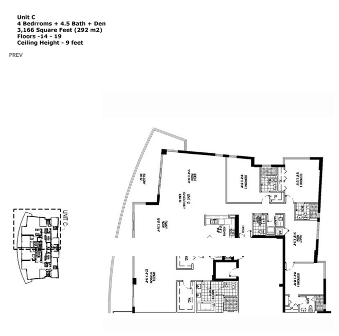 Apogee Beach - Floorplan 4