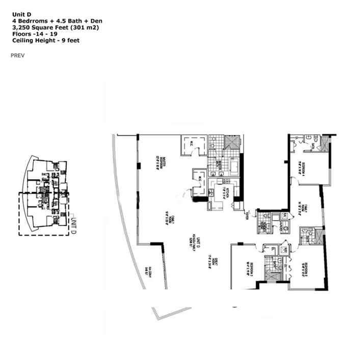 Apogee Beach - Floorplan 5