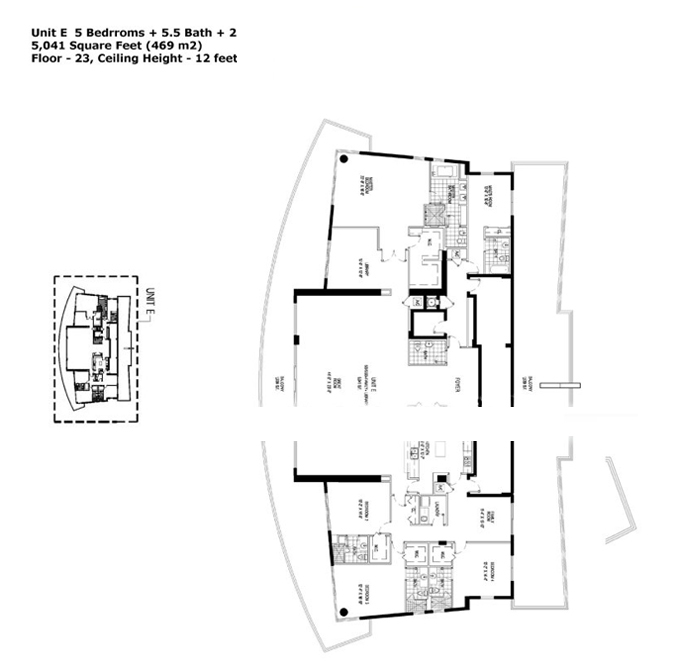 Apogee Beach - Floorplan 6