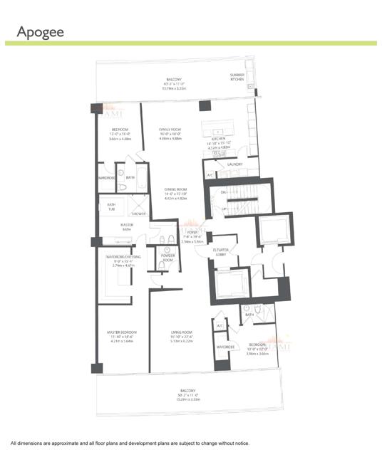 Apogee - Floorplan 1