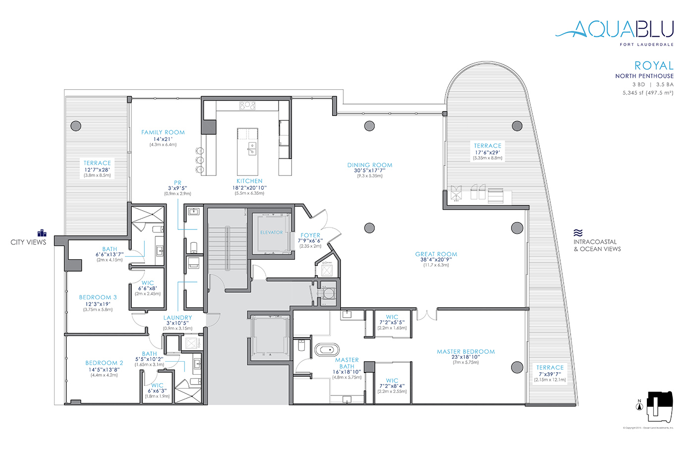 AquaBlu - Floorplan 4