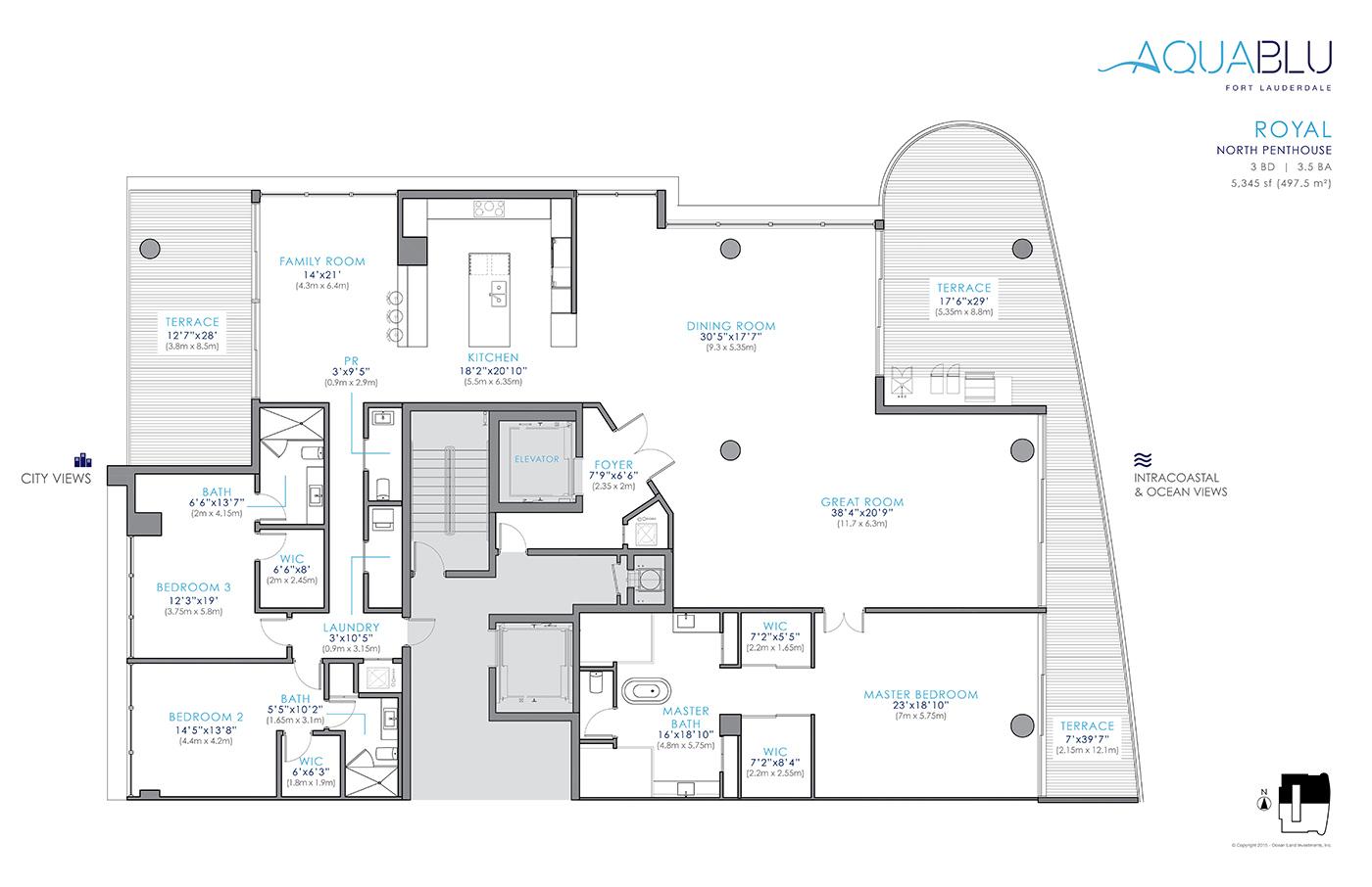 AquaBlu - Floorplan 4
