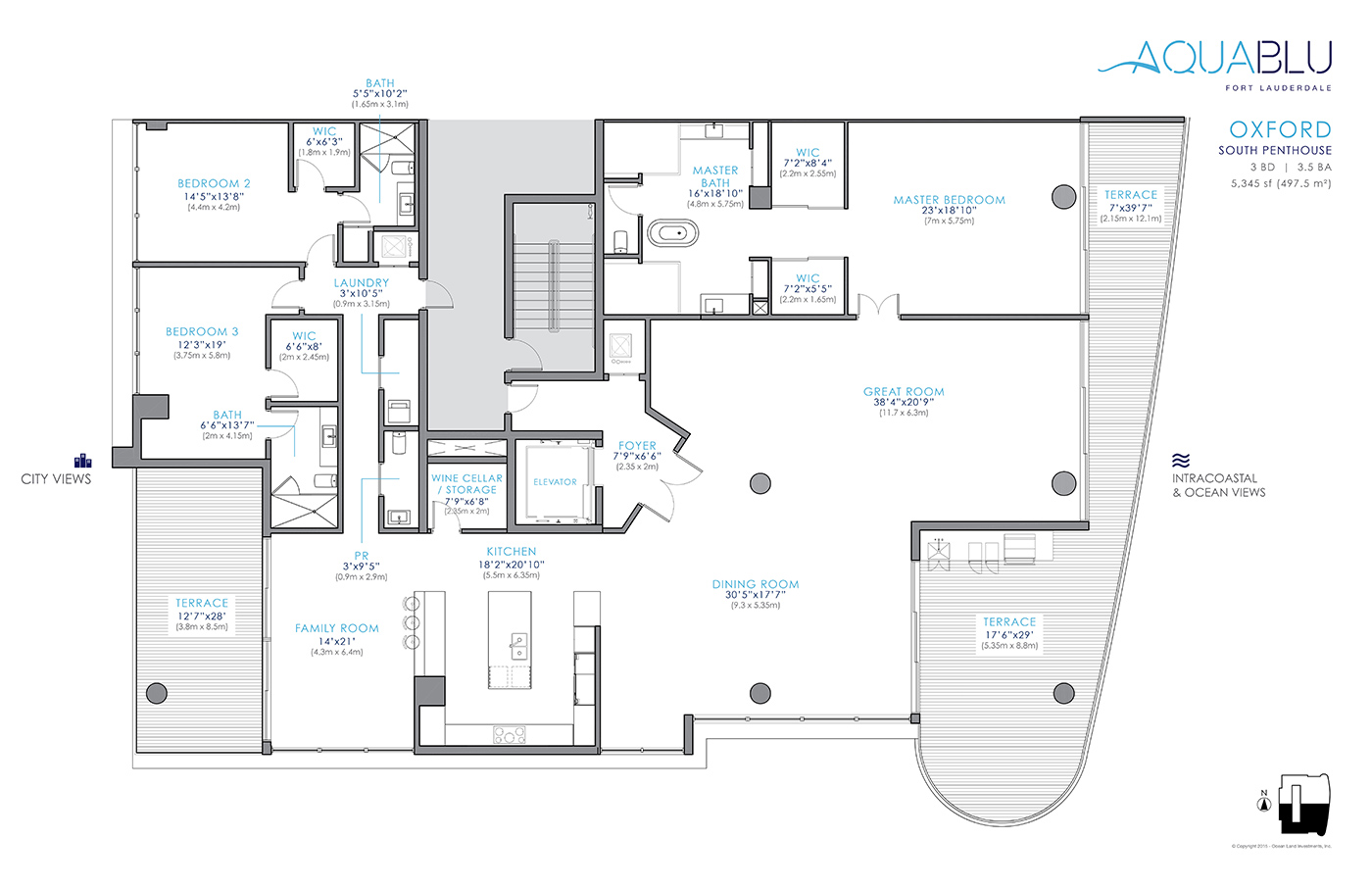 AquaBlu - Floorplan 5