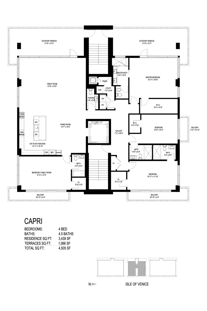 Aquamar Las Olas - Floorplan 3
