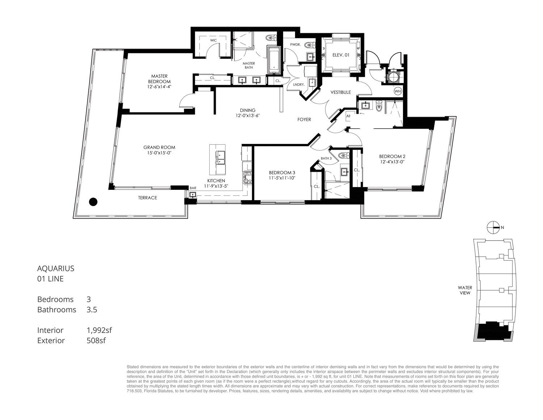 Aquarius 15 - Floorplan 1