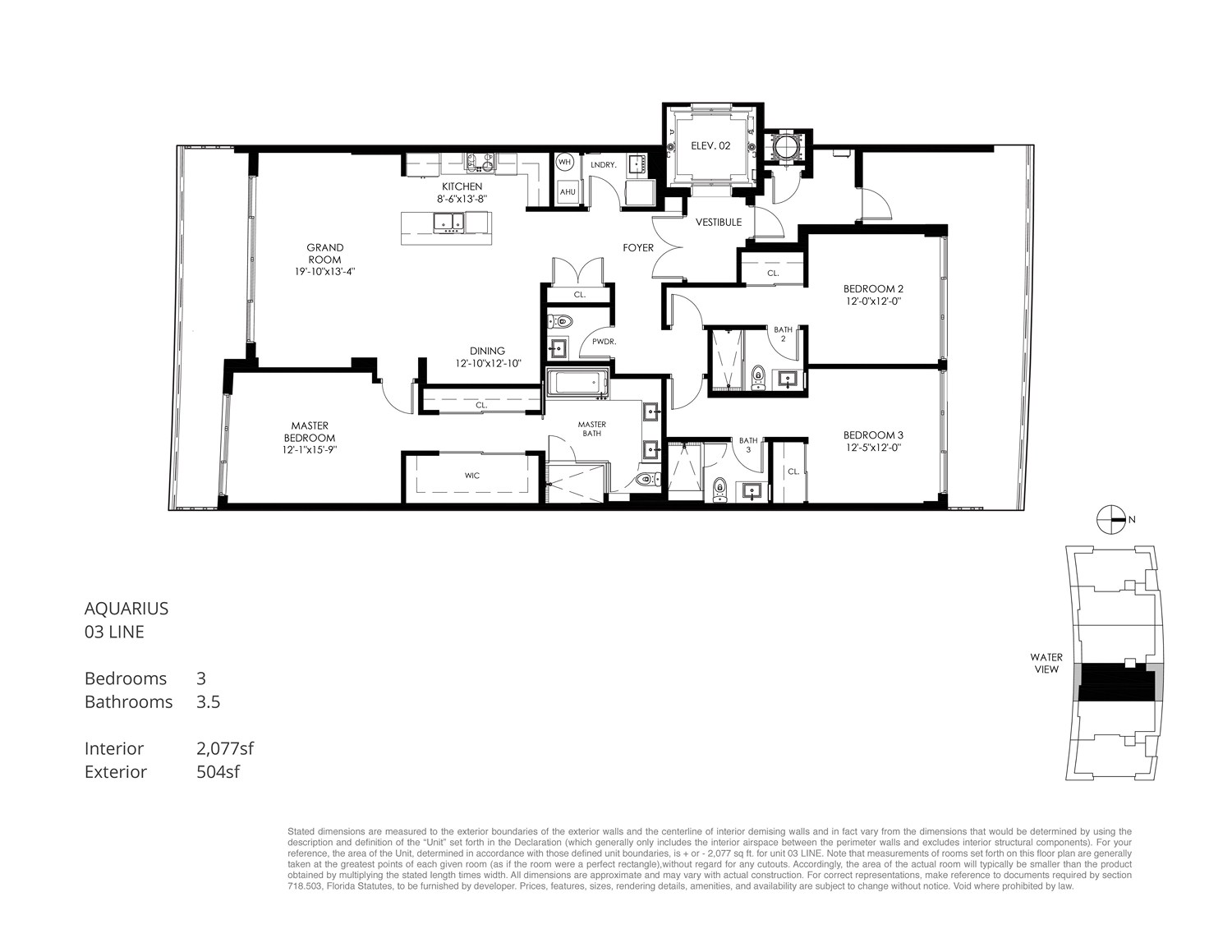 Aquarius 15 - Floorplan 3