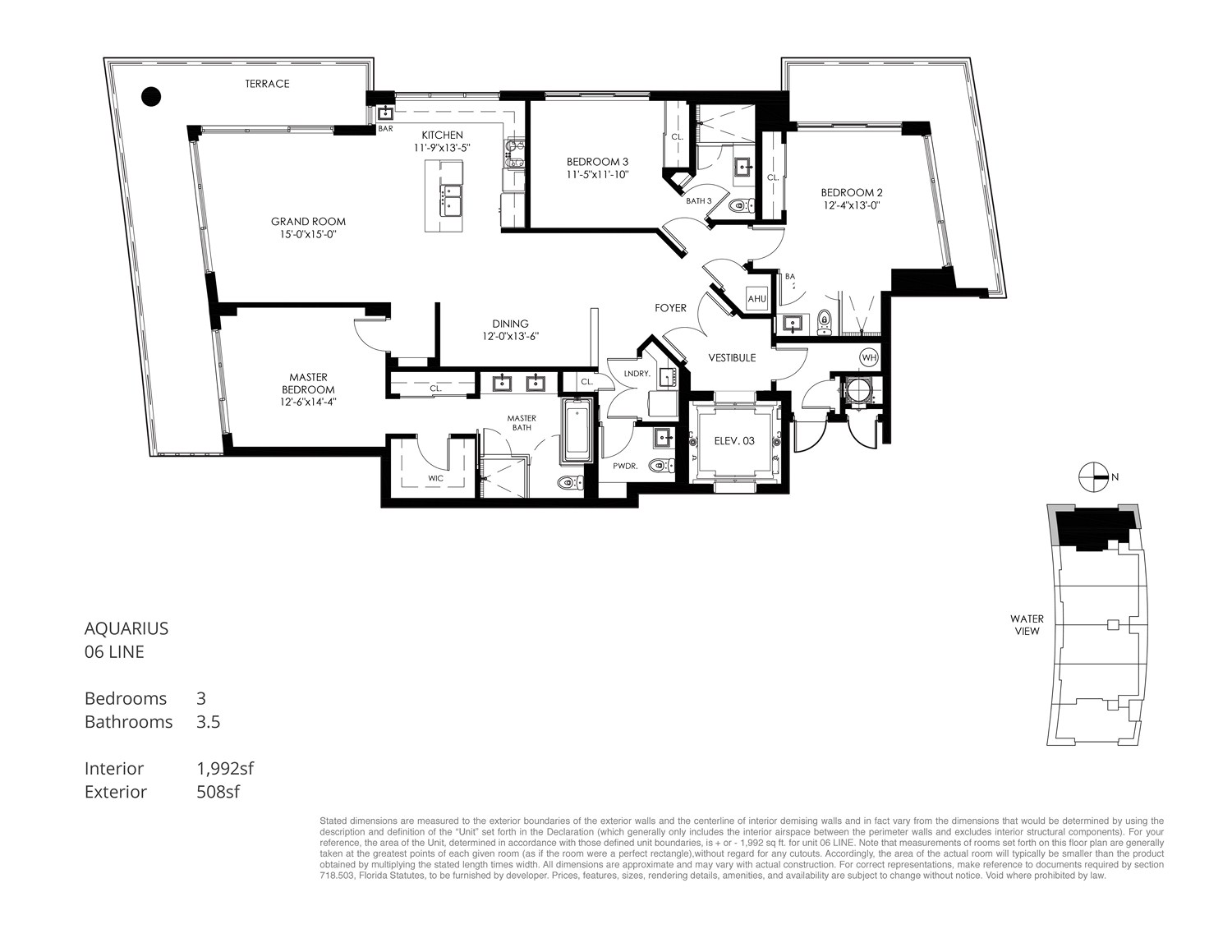 Aquarius 15 - Floorplan 6