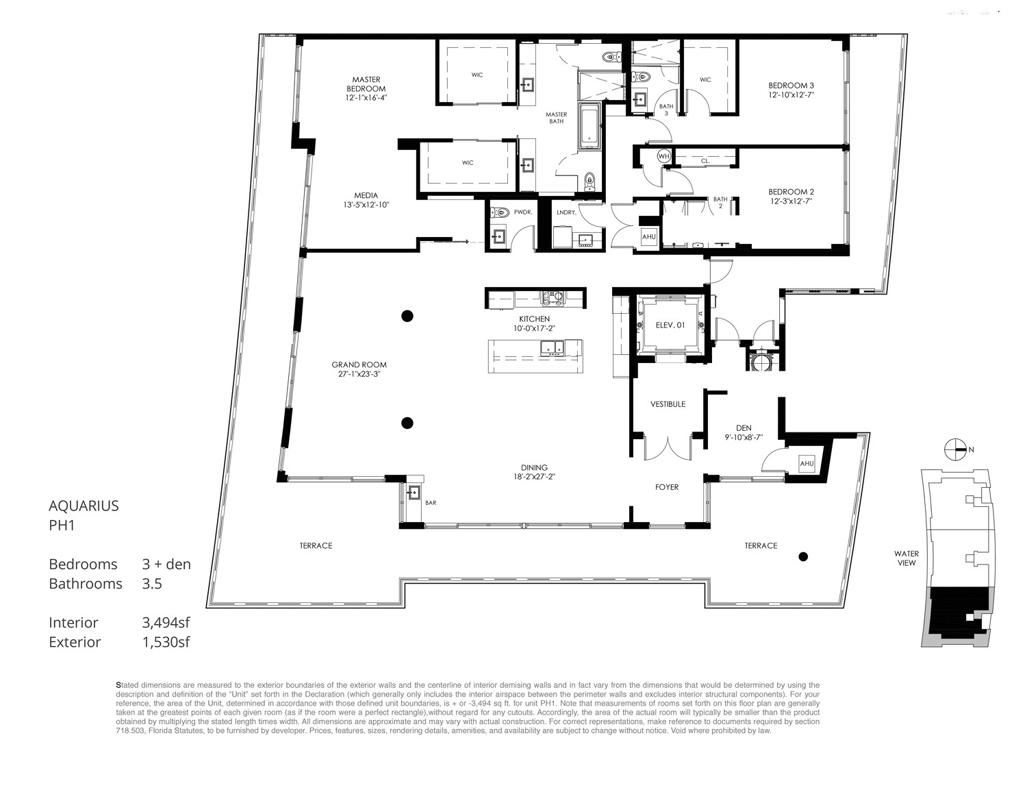 Aquarius 15 - Floorplan 7