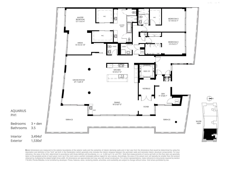 Aquarius 15 - Floorplan 7
