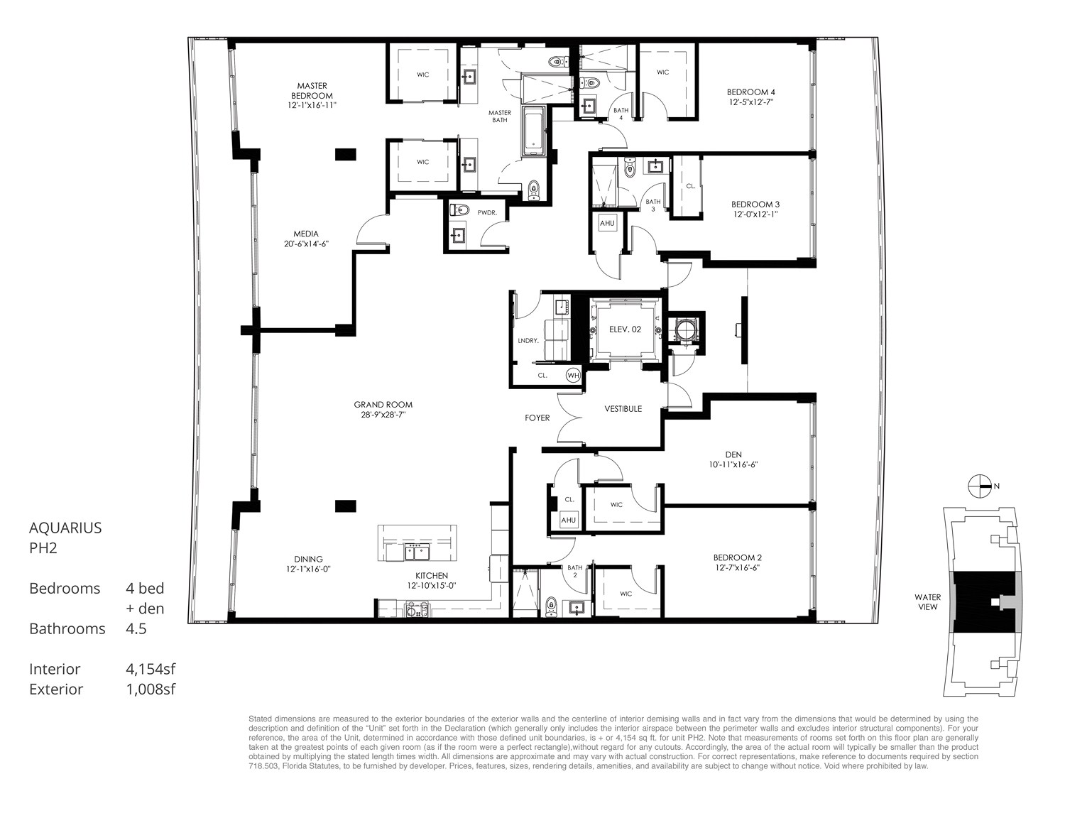 Aquarius 15 - Floorplan 8