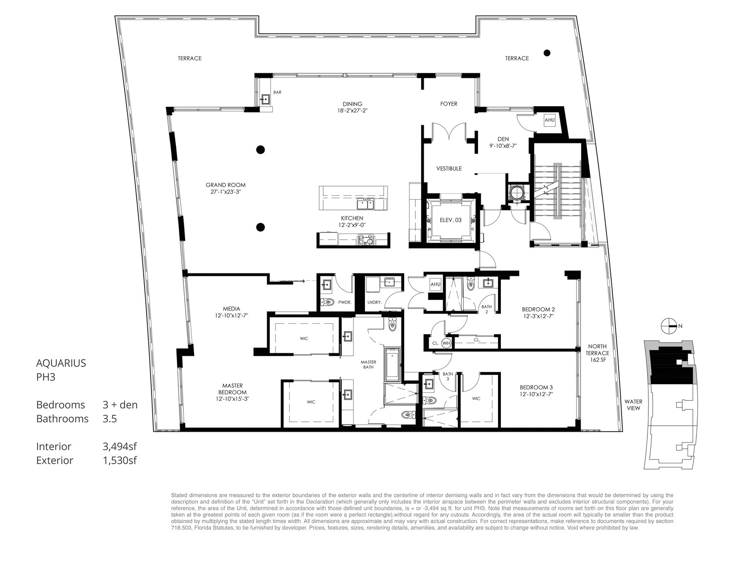 Aquarius 15 - Floorplan 9