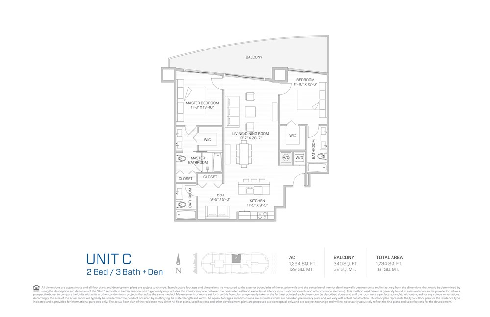 Aria on the Bay - Floorplan 2