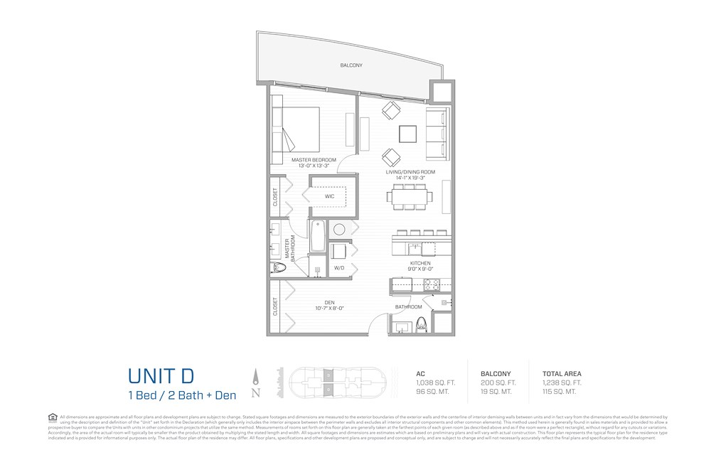 Aria on the Bay - Floorplan 3