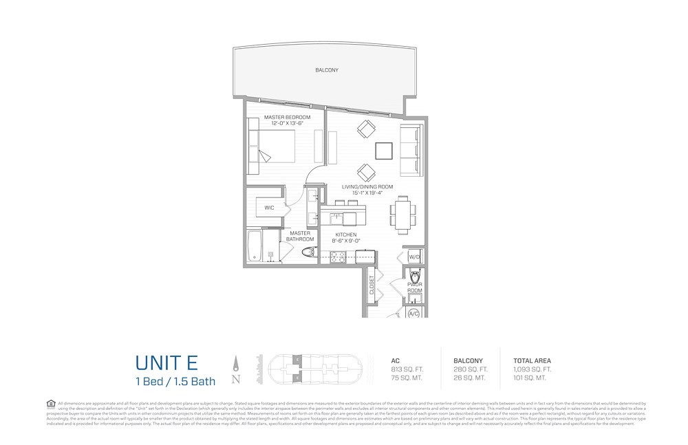 Aria on the Bay - Floorplan 4