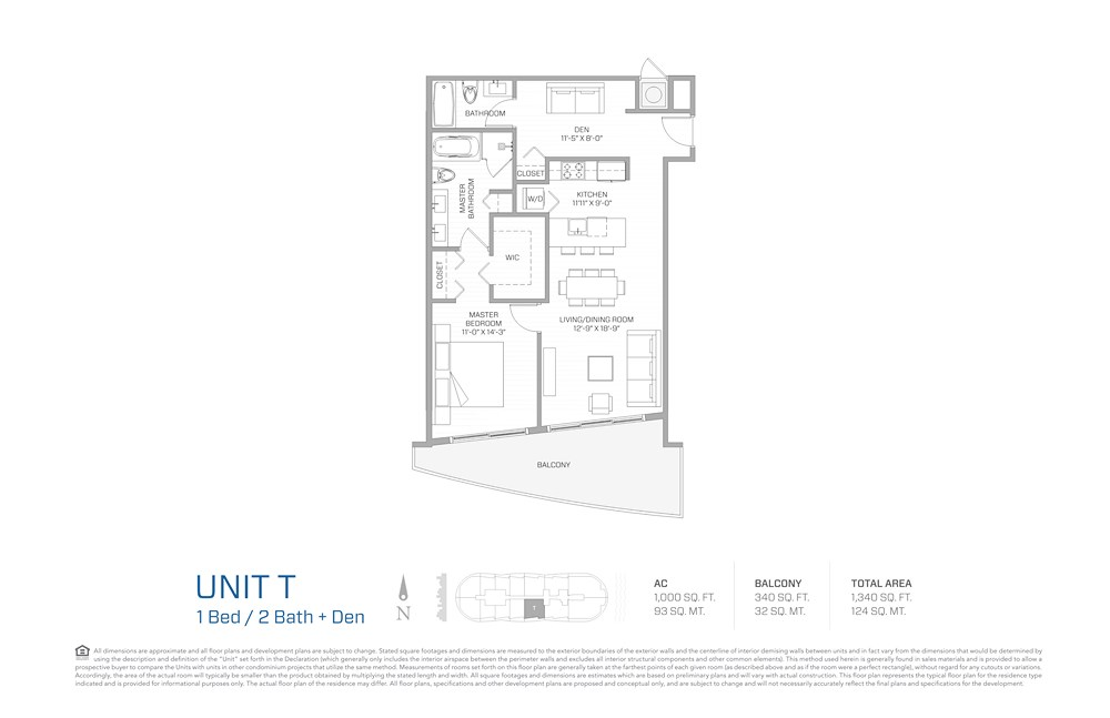 Aria on the Bay - Floorplan 8