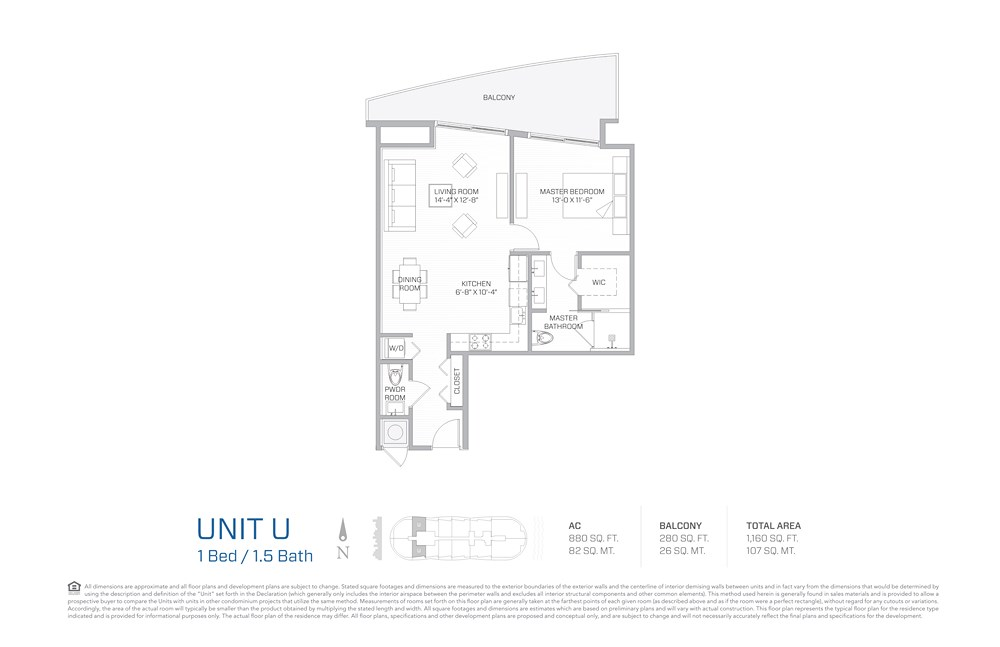 Aria on the Bay - Floorplan 9