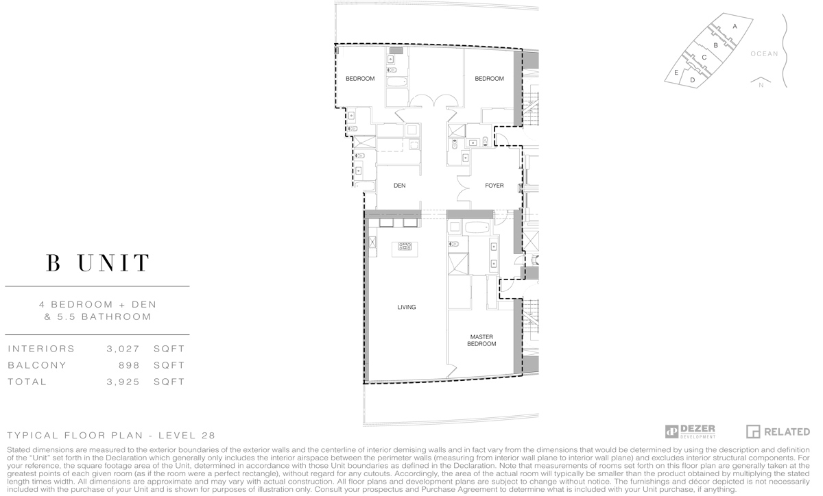 Armani House - Floorplan 1