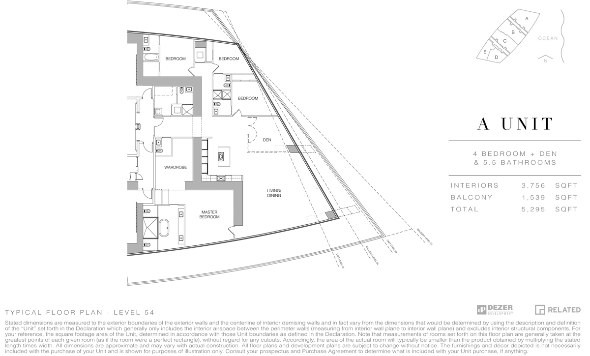 Armani House - Floorplan 4