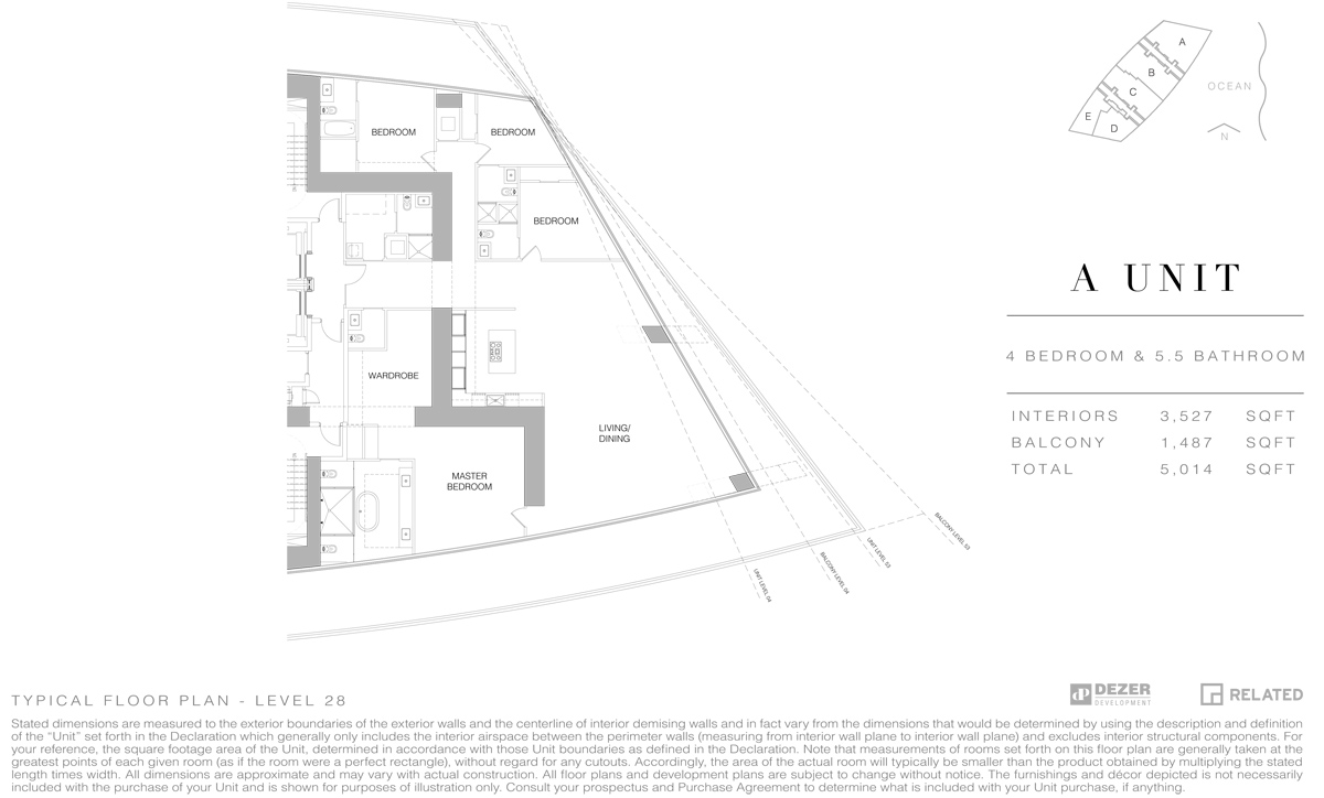 Armani House - Floorplan 5