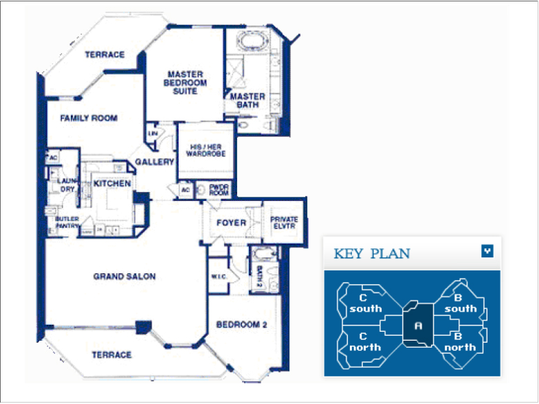 Atlantic I At The Point - Floorplan 2