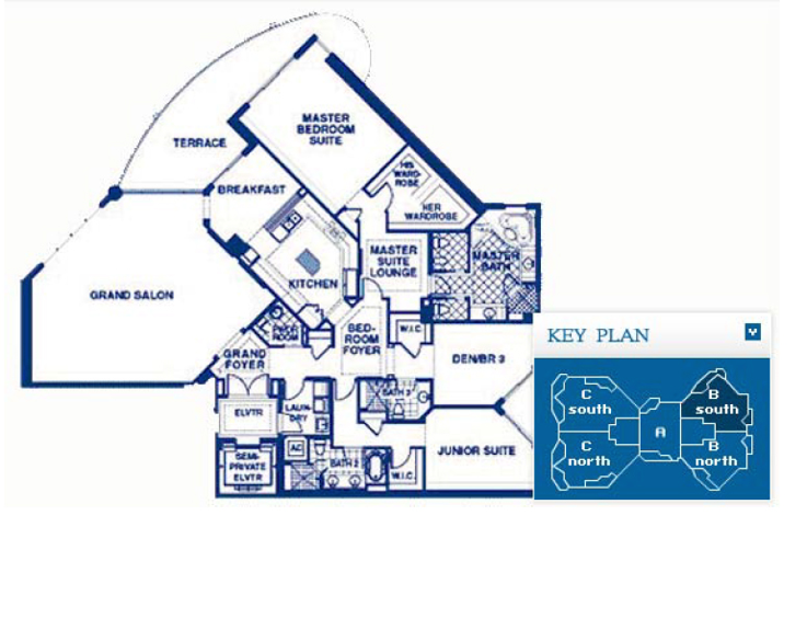 Atlantic I At The Point - Floorplan 3