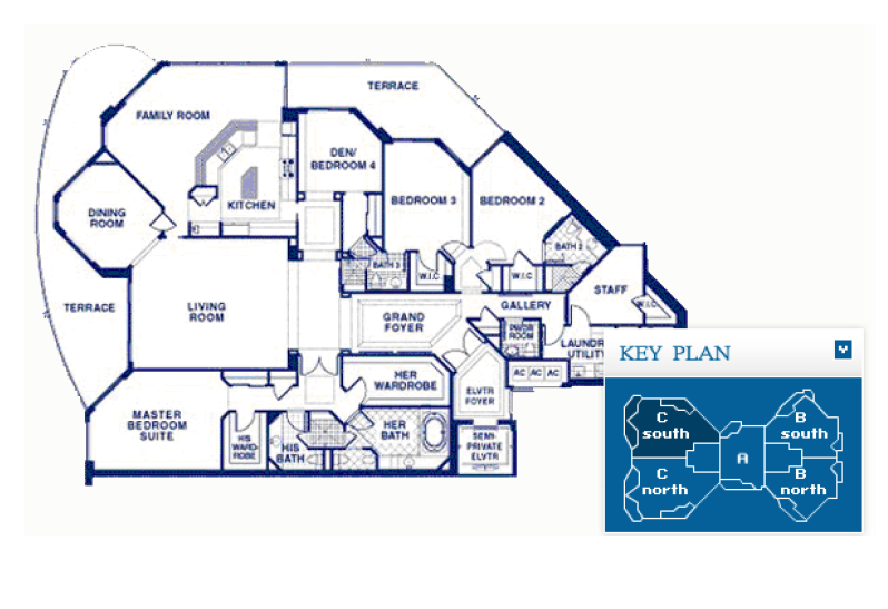 Atlantic I At The Point - Floorplan 4