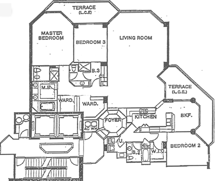 Atlantic II At The Point - Floorplan 1