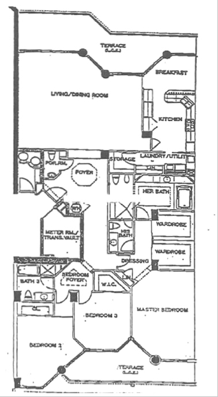 Atlantic II At The Point - Floorplan 3
