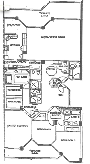 Atlantic II At The Point - Floorplan 5
